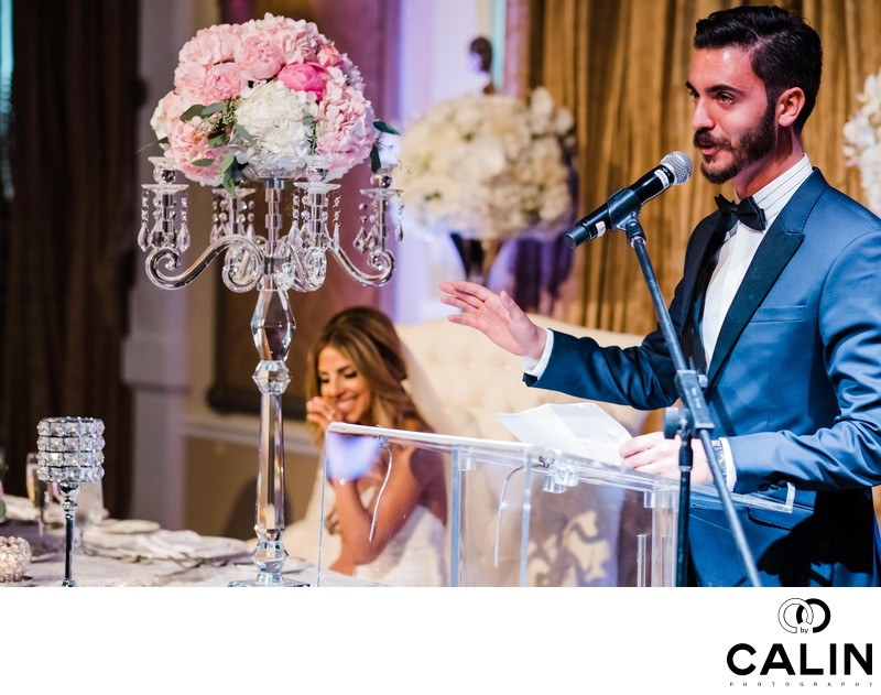 Groom's Speech at Liberty Grand Wedding