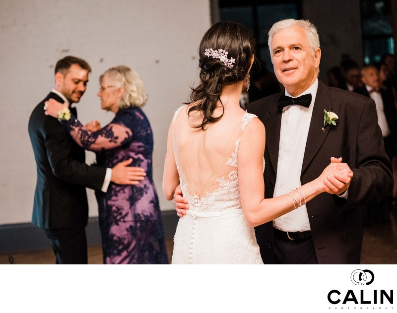Parents' Dances at Storys Building Wedding
