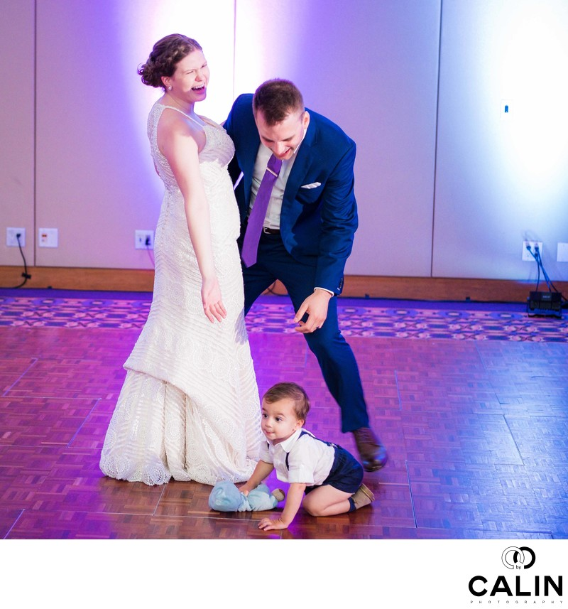 Ring Bearer Interrupts First Dance