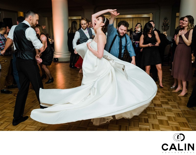 Guest Dances with Bride