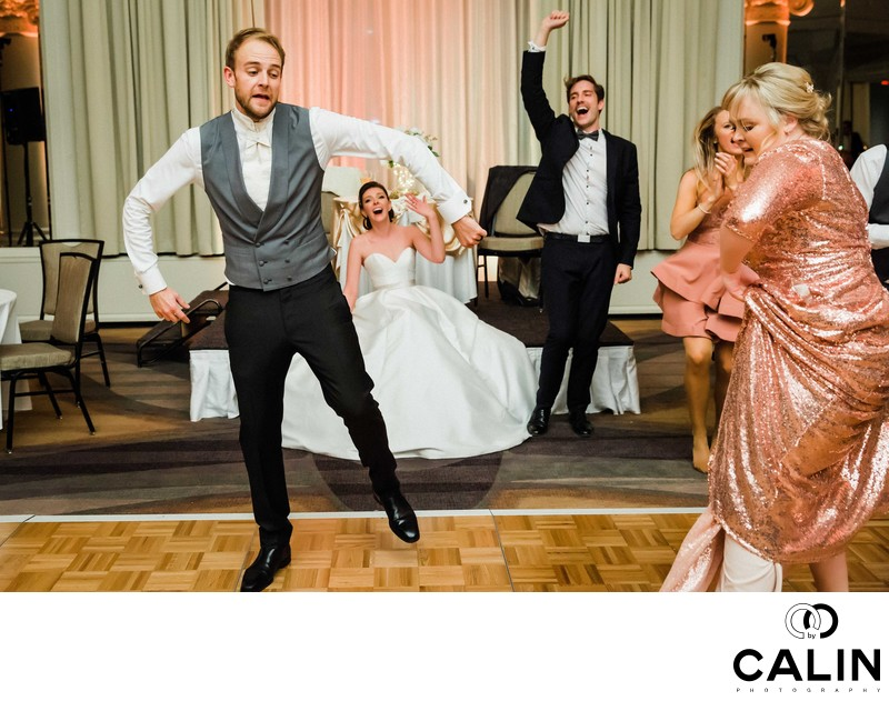 Groom Dances Brilliantly