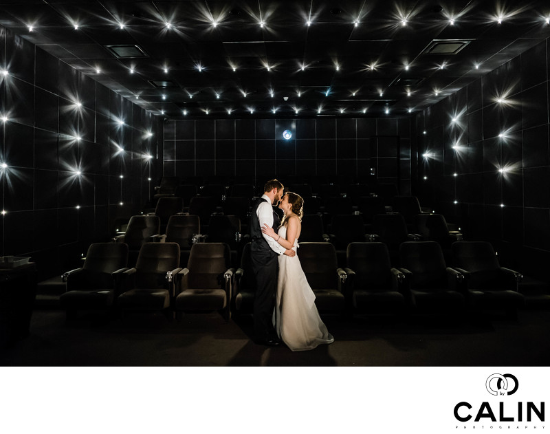 Romantic Photo at a Thompson Hotel Toronto Wedding