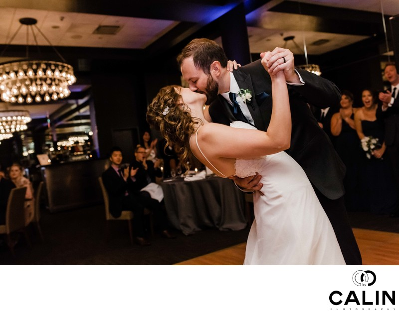Newlyweds Dance at their Thompson Hotel Toronto Wedding
