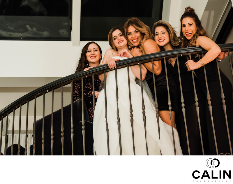 Bridal Party at Sassafraz Wedding