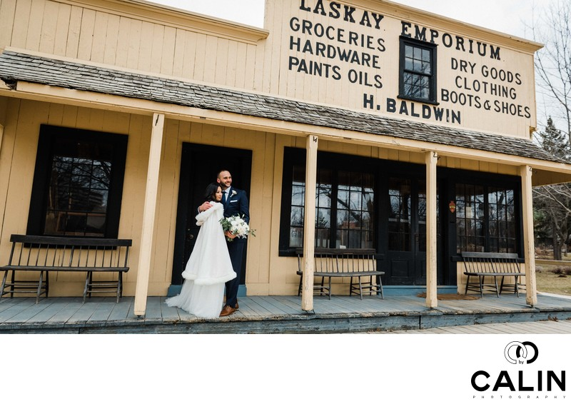 Black Creek Pioneer Village Wedding Photography 14