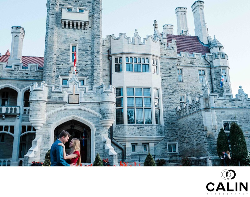 Casa Loma Engagement Proposal and Photo Shoot-001-2