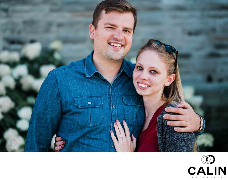 Casa Loma Engagement Proposal and Photo Shoot- 009