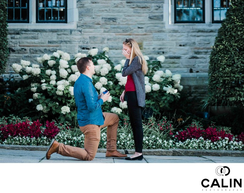 Casa Loma Engagement Proposal and Photo Shoot-003
