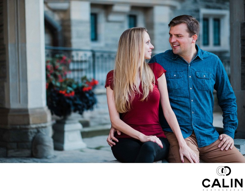 Casa Loma Engagement Proposal and Photo Shoot-015