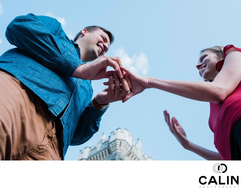 Casa Loma Engagement Proposal and Photo Shoot-011