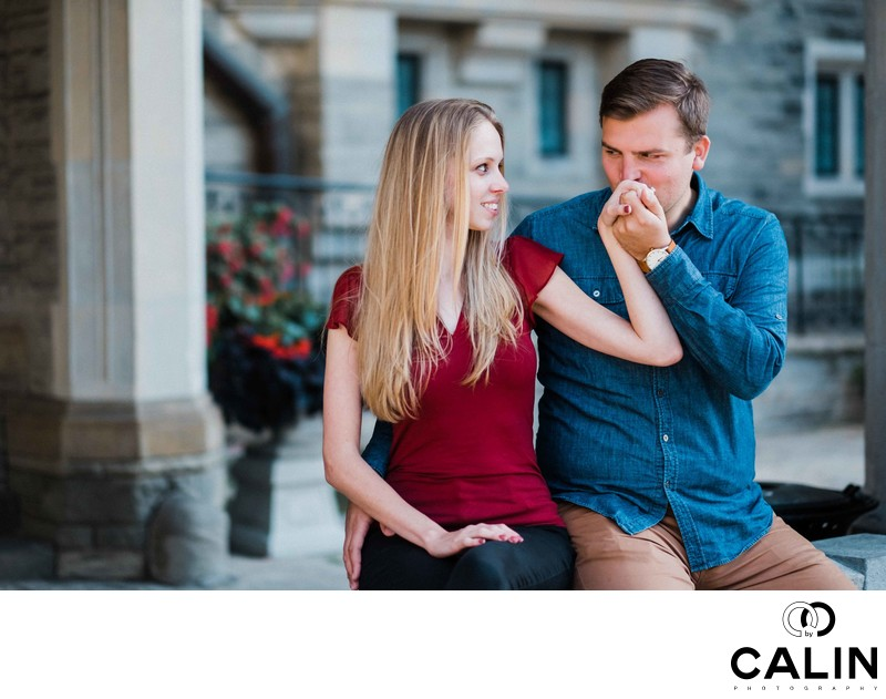 Casa Loma Engagement Proposal and Photo Shoot-017