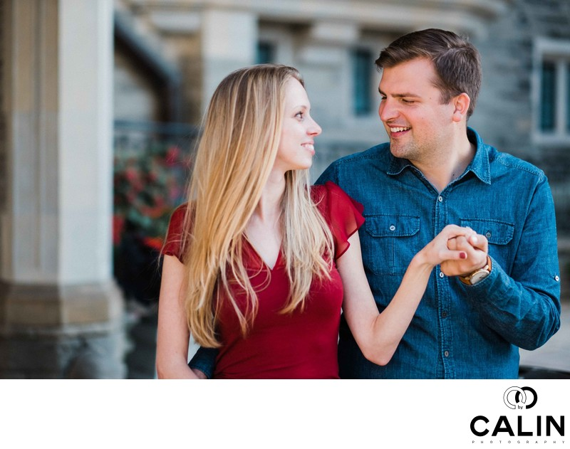 Casa Loma Engagement Proposal and Photo Shoot-018