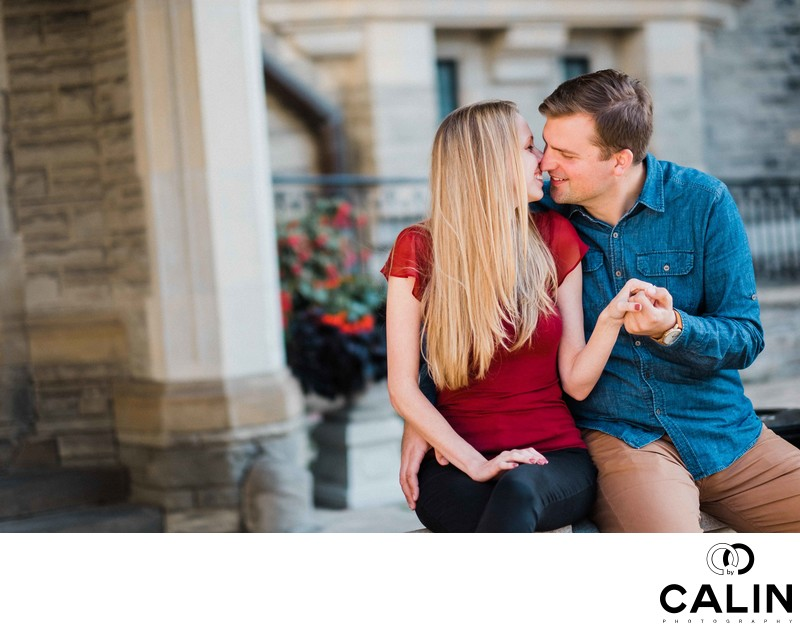 Casa Loma Engagement Proposal and Photo Shoot-019