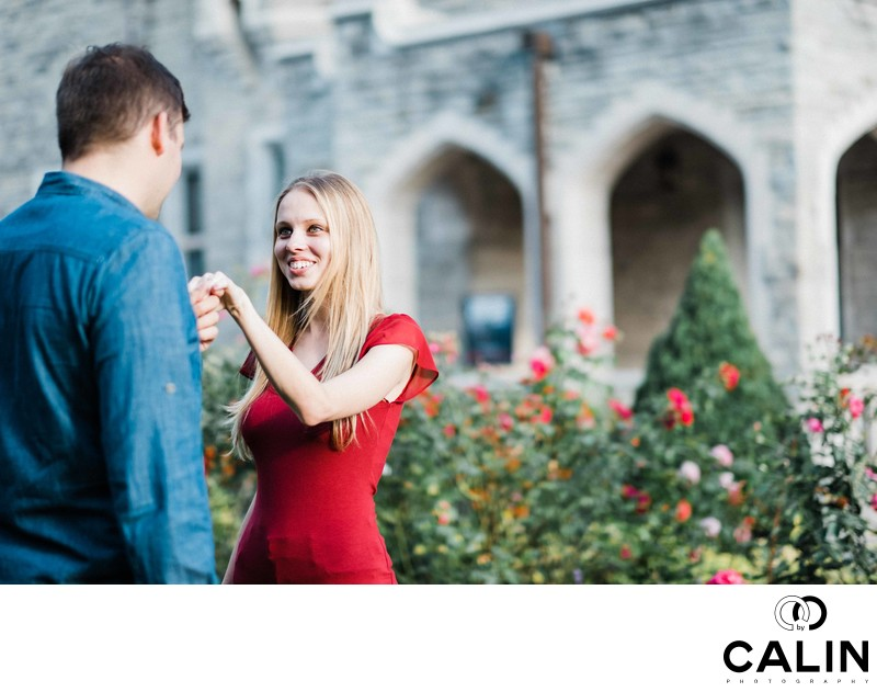 Casa Loma Engagement Proposal and Photo Shoot-023