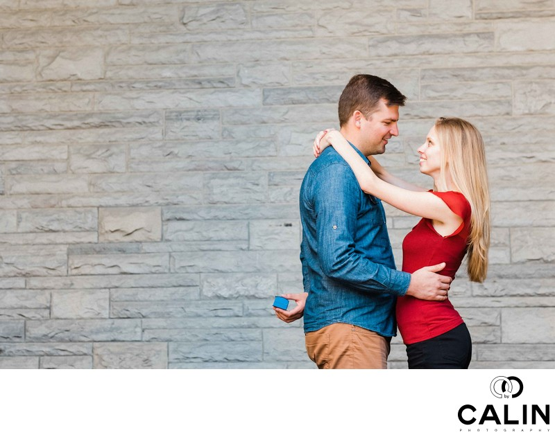 Casa Loma Engagement Proposal and Photo Shoot-037