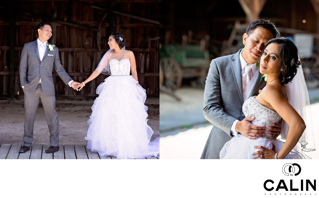 Romantic Photos at Country Heritage Park Wedding