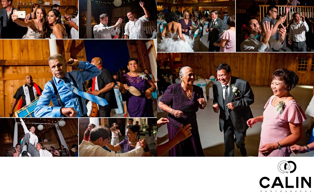 Family Dance at Country Heritage Park Wedding