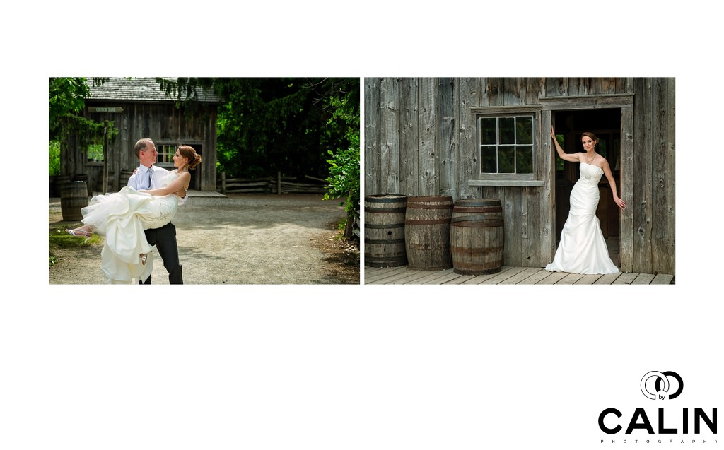 Bride and Groom Romantic Shots