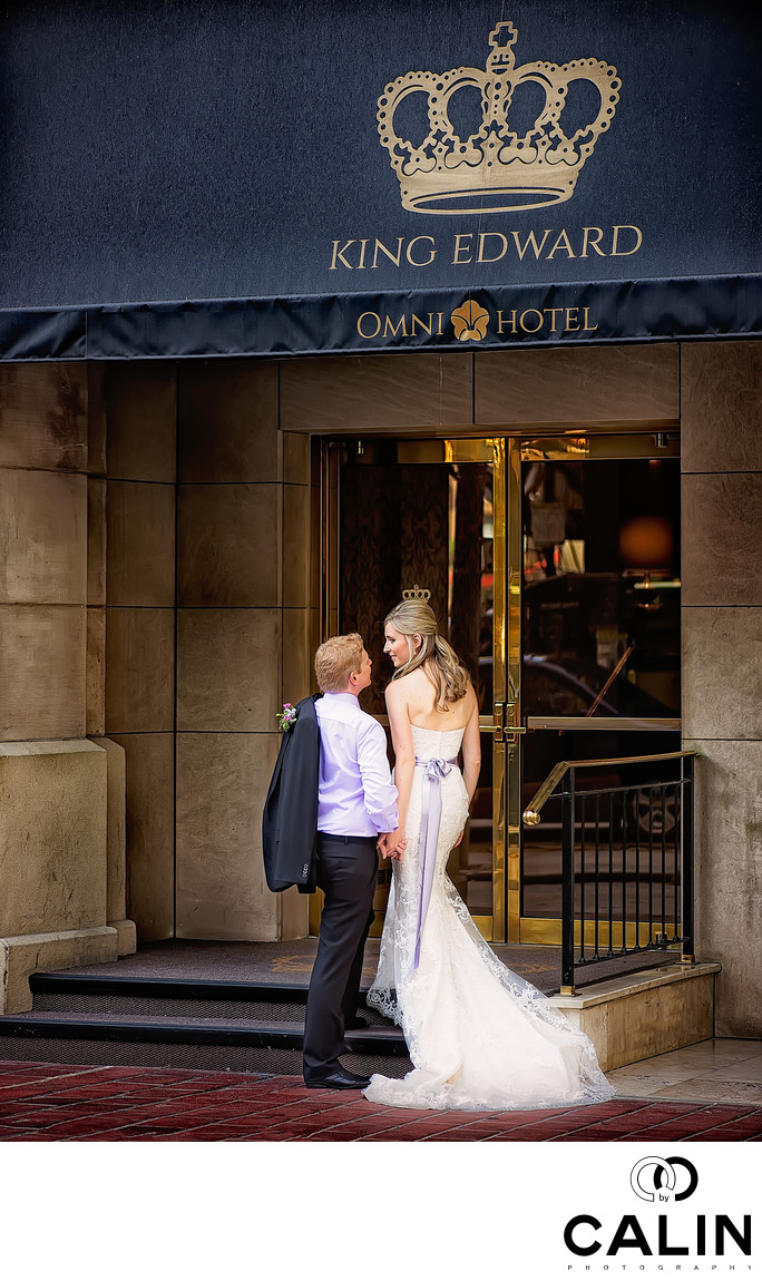 King Edward Hotel Wedding Photographer