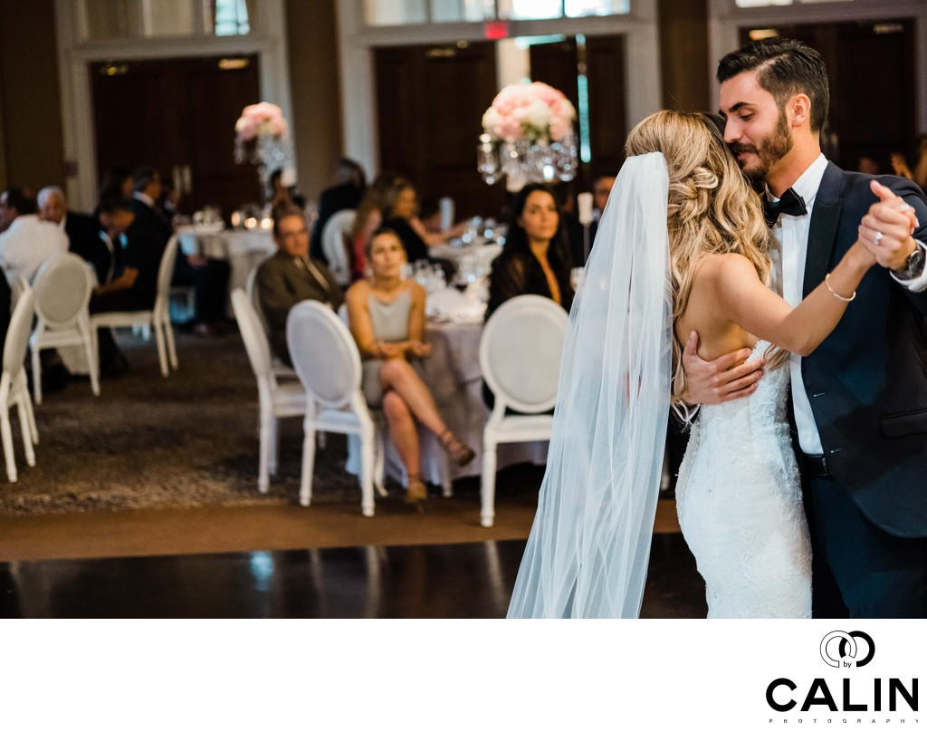 First Dance at Liberty Grand Wedding