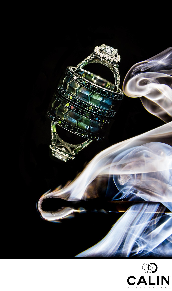 Rings Photo and Smoke