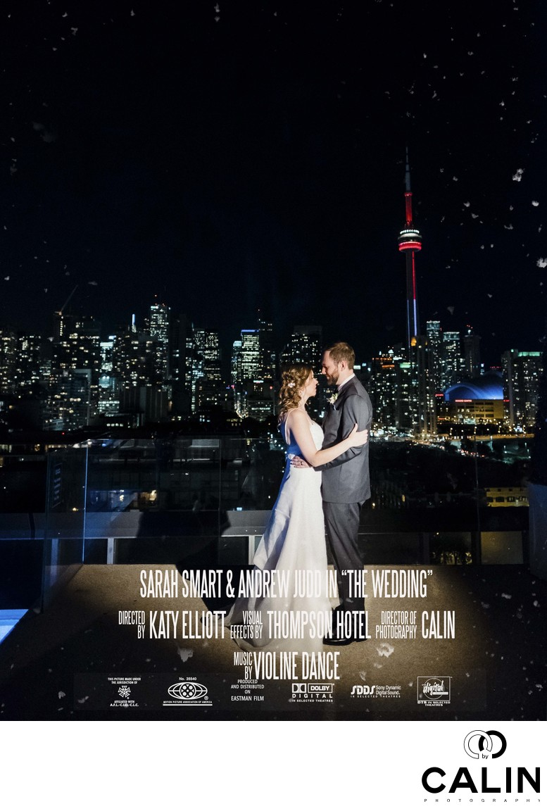 Thompson Hotel Toronto Wedding Movie Poster