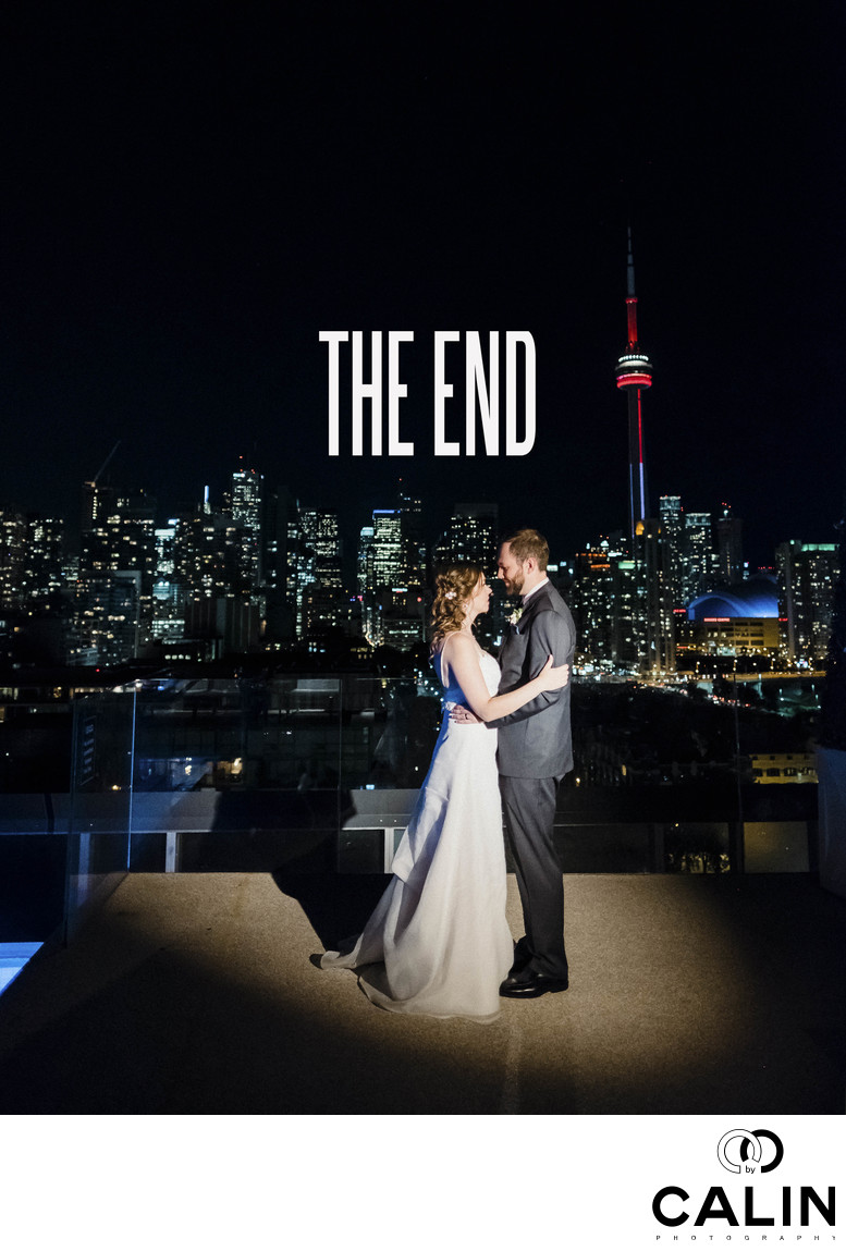 Closing Photograph at a Thompson Hotel Toronto Wedding