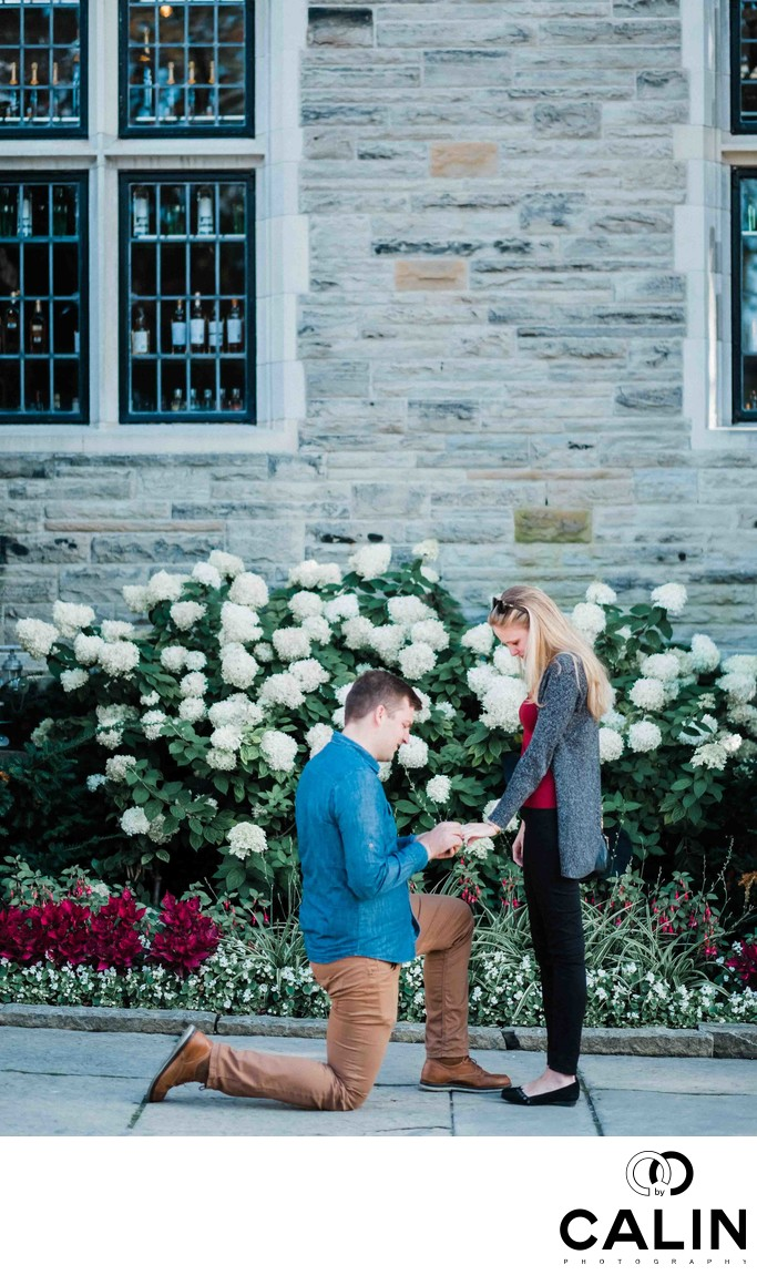 Casa Loma Engagement Proposal and Photo Shoot-002