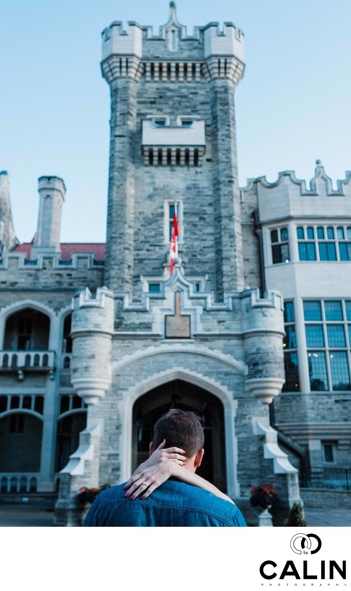 Casa Loma Engagement Proposal and Photo Shoot-025