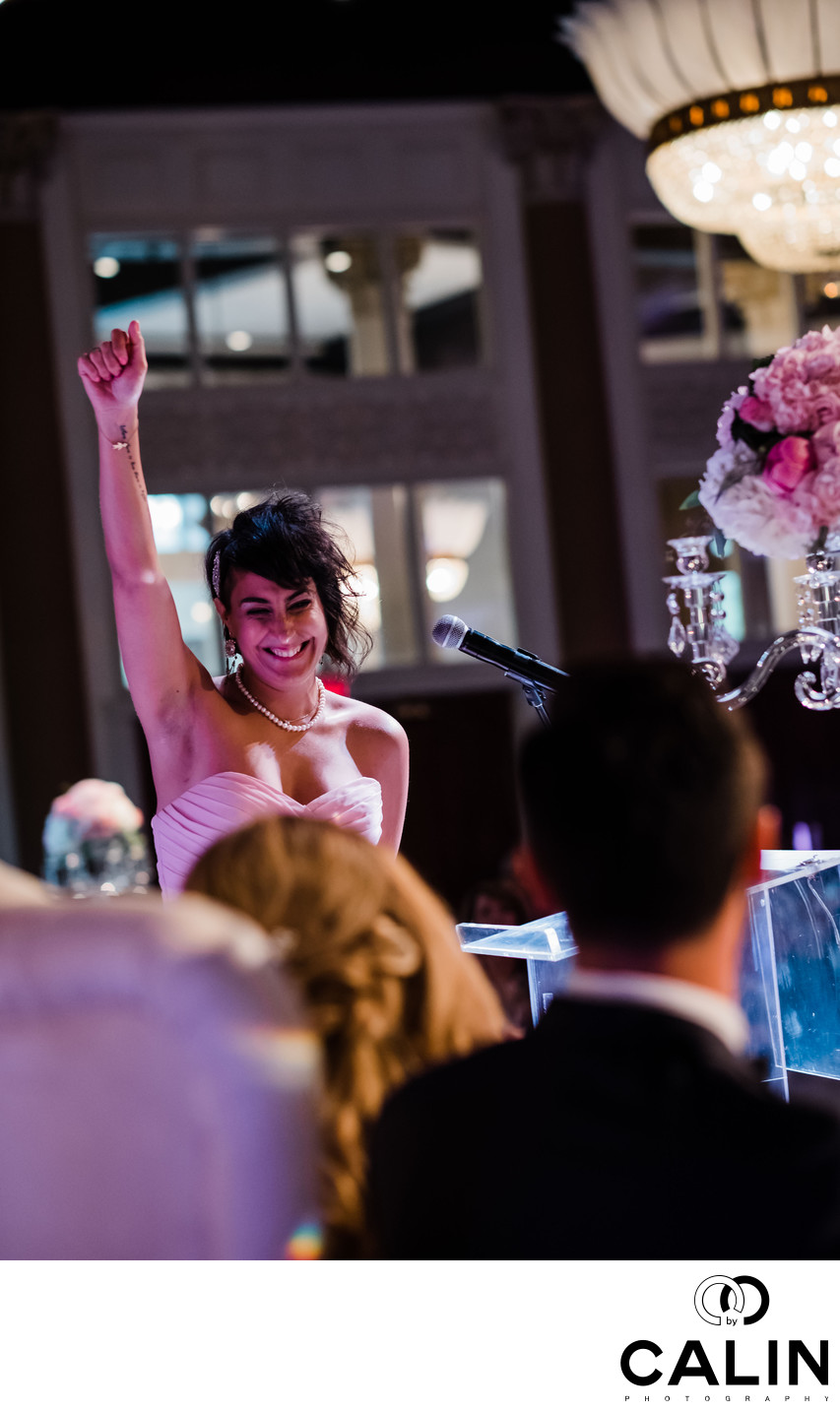 Maid of Honour's Speech at Liberty Grand Wedding