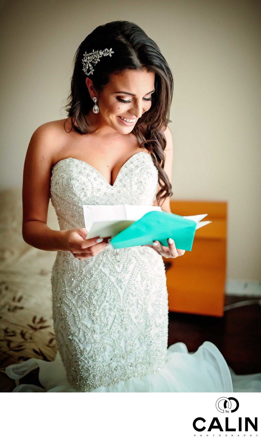 Bride Reads Groom's Letter