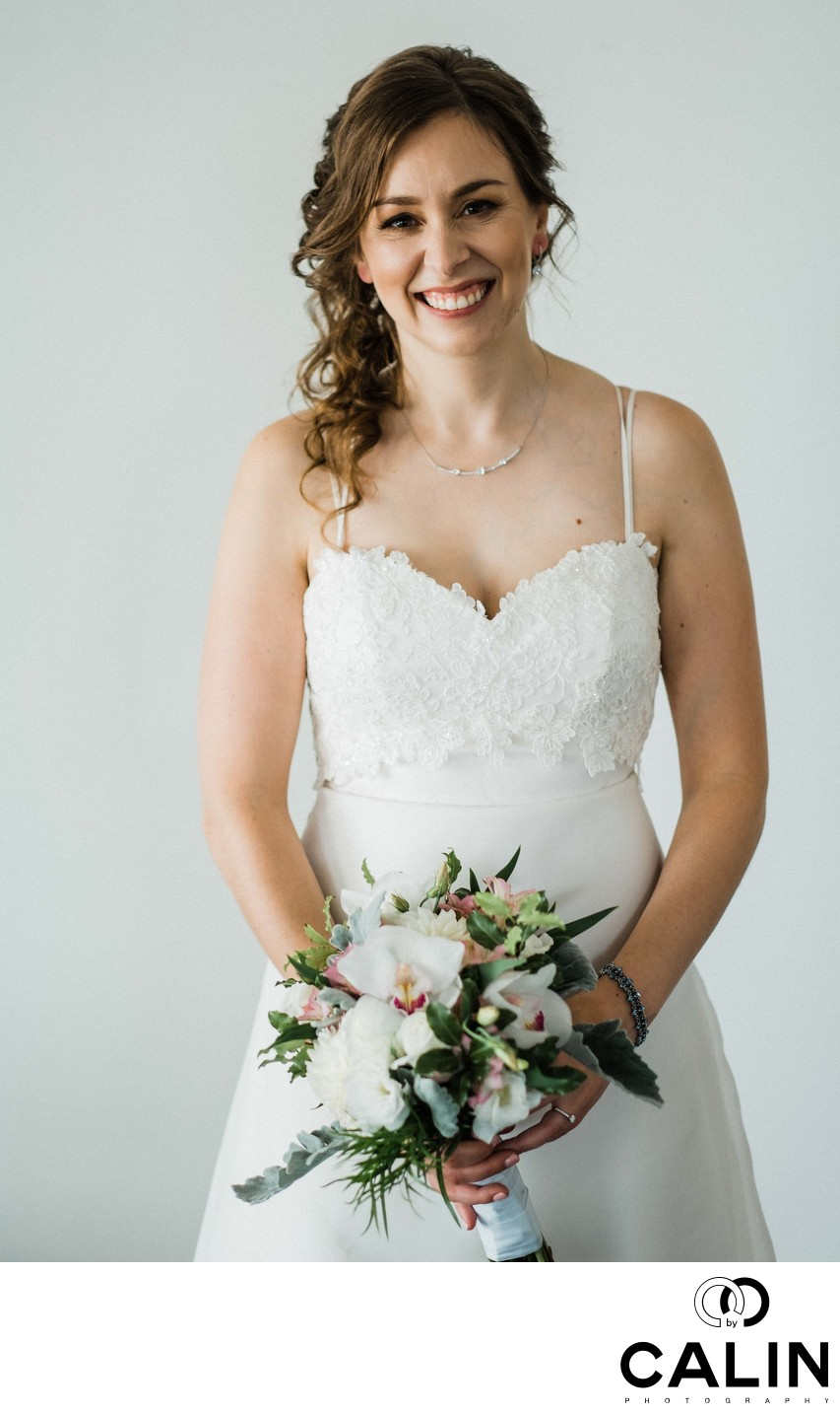 Bridal Portrait at a Thompson Hotel Toronto Wedding