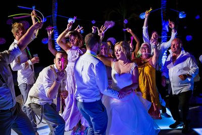 Barcelo Maya Palace Deluxe Wedding Reception