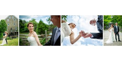 Creative Portraits of the Bride and Groom