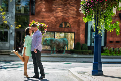 Amazing Yorkville Engagement Photo