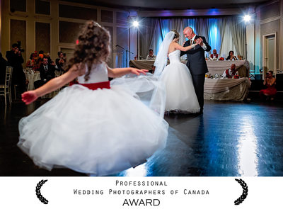 Crystal Fountain Wedding - Father Daughter Dance