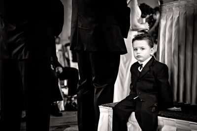 Ring Bearer at King Edward Hotel Wedding