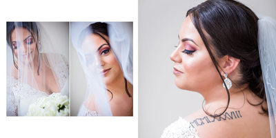 Portraits of Bride Getting Ready