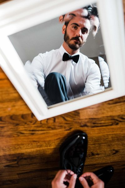 Creative Portrait of the Groom