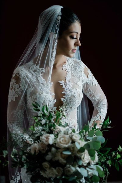 Beautiful Bridal Portrait at King Edward Hotel