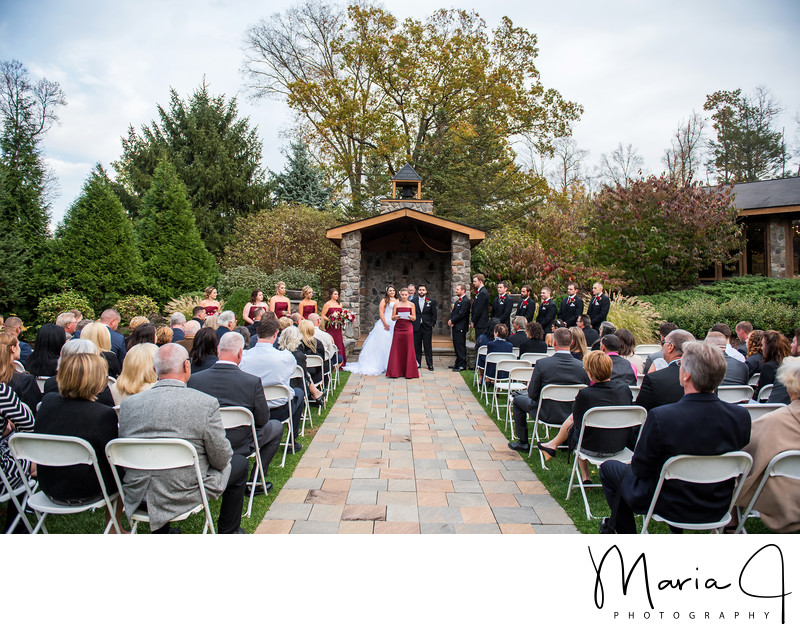 Wedding Day at Stroudsmoor PA