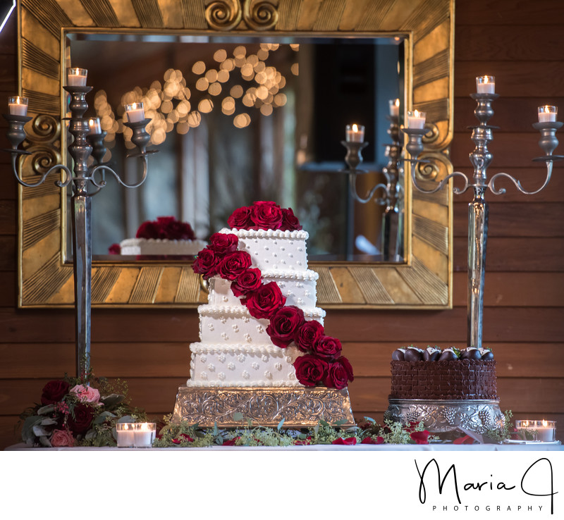 Prettiest Wedding Cake in the Poconos