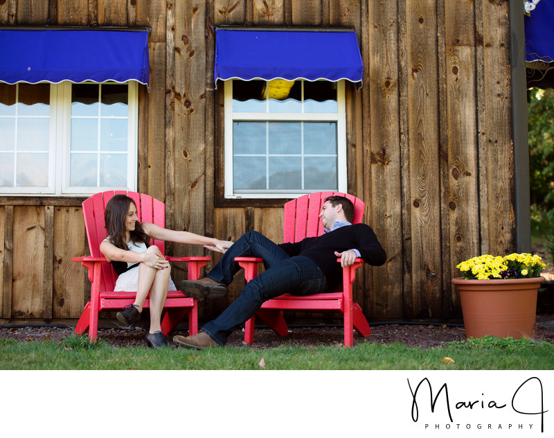 Engagement Photographer in Doylestown PA