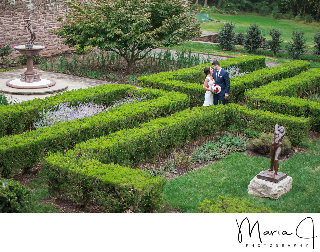 The Maze at Tyler Hall in Bucks County