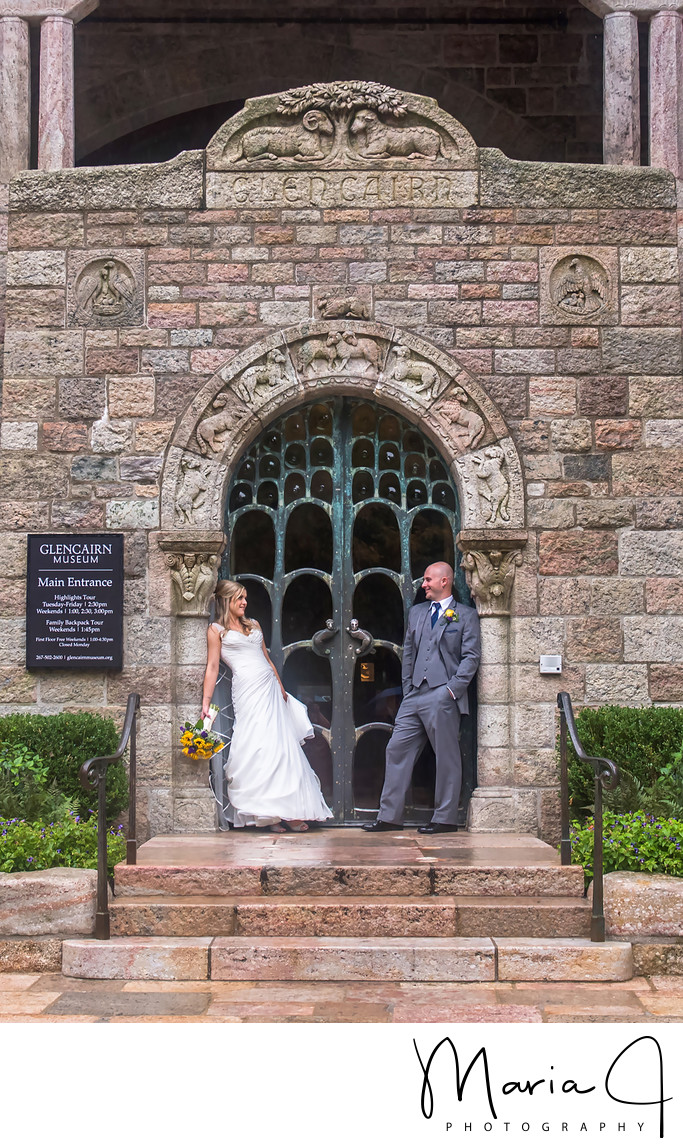 Wedding Photography at Glencairn Museum