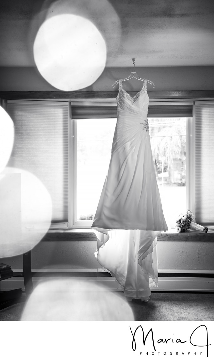 Wedding Gown at Brides House