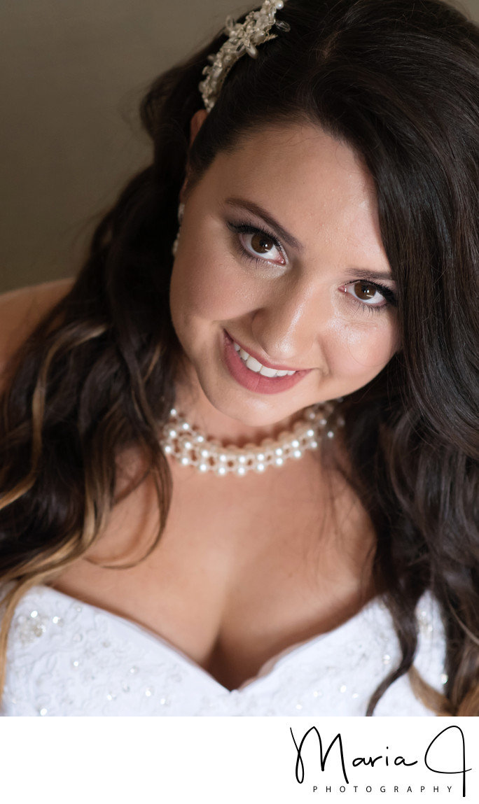 Bridal Portrait in Stroudsmoor PA