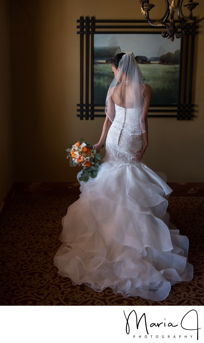 Bridal Portrait in Leola