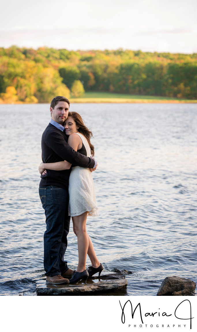 Engagement at Lake Galena