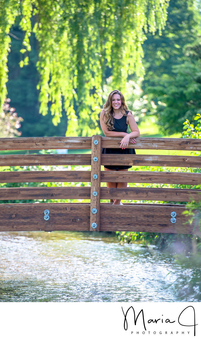 Allentown Rose Gardens Senior Portraits